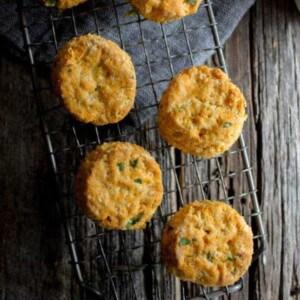 Vegan Thai Red Curry Biscuits by @beardandbonnet on www.beardandbonnet.com