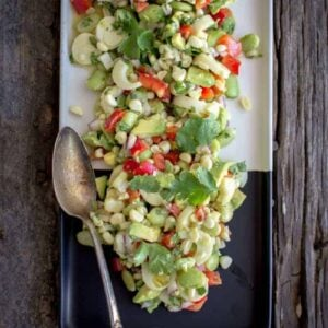 Easy Vegan Ceviche by @beardandbonnet on www.beardandbonnet.com