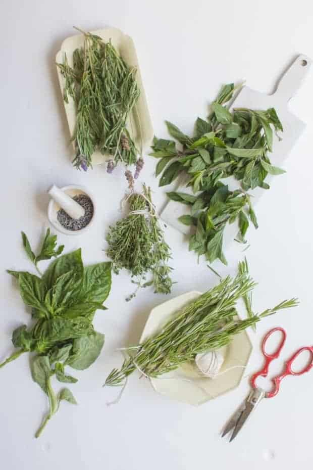 5 Culinary Herbs You Should Be Using Outside of Your Kitchen on @beardandbonnet