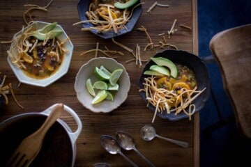 Vegan Tortilla Soup with an Autumn Twist | @thismessisours