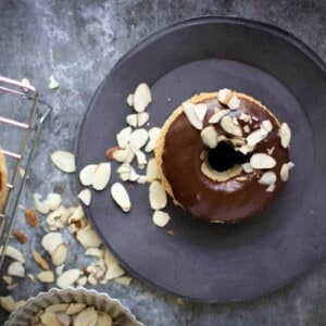 Gluten Free for Good: Spiced Doughnuts + Mocha Glaze | @thismessisours