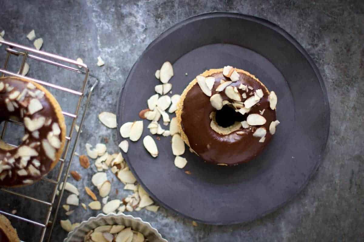 Gluten Free for Good: Spiced Doughnuts + Mocha Glaze   @thismessisours
