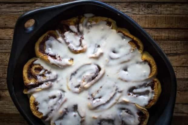 Decadent Gluten Free Cinnamon Rolls   @thismessisours