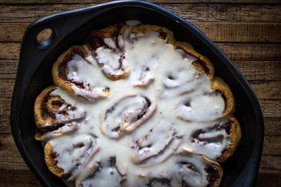 Decadent Gluten Free Cinnamon Rolls | @thismessisours