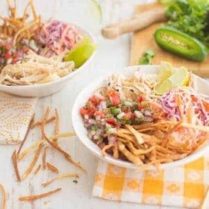 Vegan Bowl Attack: Fish Taco Bowl | @thismessisours