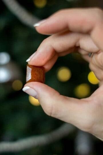 Apple & Rooibos Tea Throat Lozenges recipe    @thismessisours