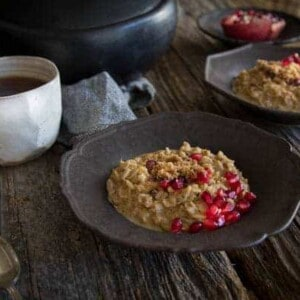 Easy Vegan London Fog Oatmeal | @thismessisours @lovemysilk #doplants