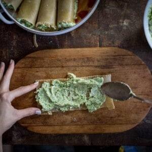 Broccoli and Ricotta Lasagna Rolls recipe   @thismessisours