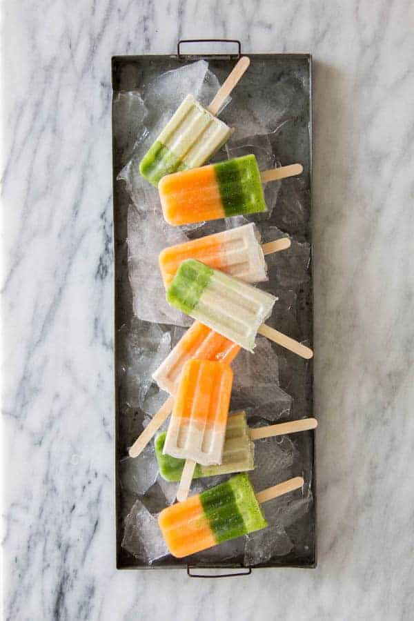 Easy Fresh Juice Pops with the @vitamix Ascent series A3300 blender. || @thismessisours