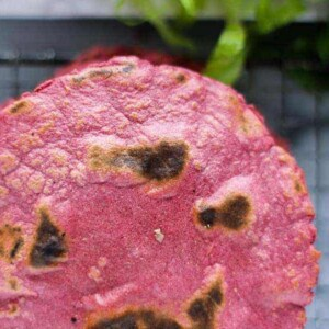Perfectly Pink Tortillas recipe    We can't get enough of the color pink and these gorgeous tortillas are just the perfect shade with the help of a little @nutsdotcom beet powder! Fill them with black beans, taco meat, or falafel. You really just can't go wrong!    @thismessisours #glutenfree #vegan #taconight