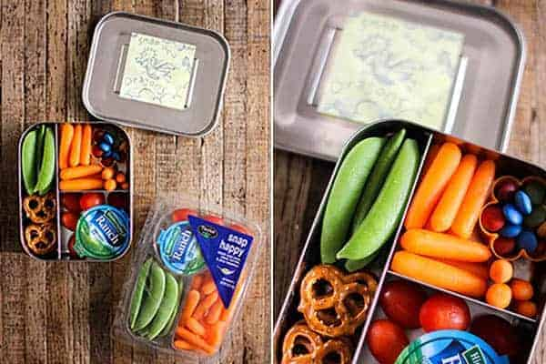 4 Easy Lunch Boxes For Busy Weekdays || Snap Happy Snack Trays || @thismessisours #ad @taylorfarms