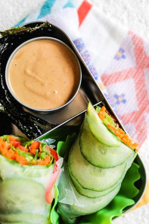 Kid Approved Thai Peanut Butter Dipping Sauce This Mess Is Ours