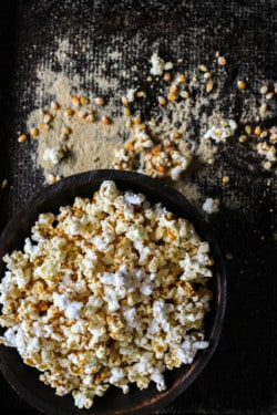 DIY Microwave Kettle Corn