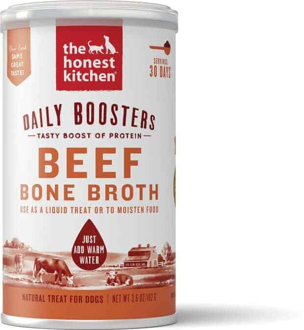 The Honest Kitchen Daily Boosters Beef Bone Broth