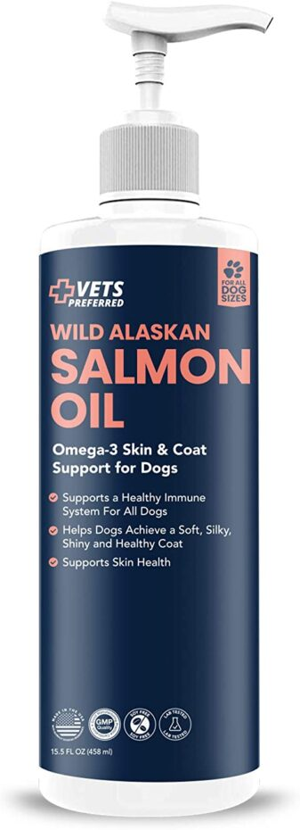 Wild Alaskan Salmon Oil Supplement for dogs